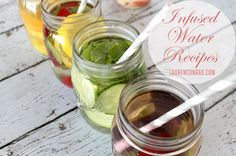 Sipping Pretty: Infused Water #Recipes