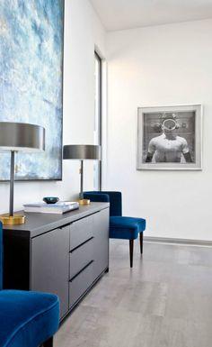 Elegant #decor idea with gorgeous table lamps #InteriorDesign  #TableLamp  For more inspiring images, click here: http://www.delightfull.eu/en/
