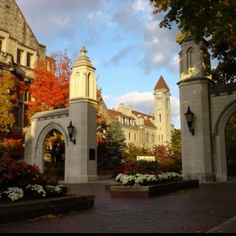 Beautiful picture of one of my favorite places - IU Bloomington :)