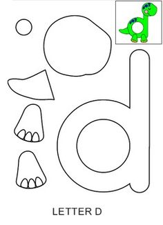 Dinosaur templates - 11 Pages of Dinosaur crafting fun. Also see Bug templates and FREE Grizzly bear template xoxo Preschool Letter Crafts, Dinosaur Theme Preschool, Alphabet Letter Crafts, Dinosaur Activities, Dinosaur Crafts, Daycare Crafts, Preschool Curriculum, Preschool Lessons, Alphabet Activities