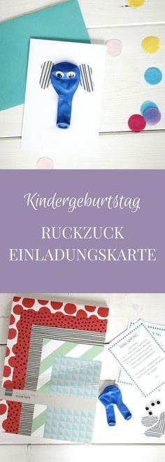 kindergeburtstag einladung * pdf zum selbstdruck, Einladung