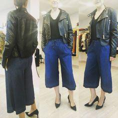 Cazadora negra de Relish al 50% (nos queda una m y una l) y pantalón de  nueva temporada de fornarina  fashion  style  relish  rebajas  sales   allegrashop ... b7b81139788b