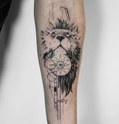Tattoo done by: @koittattoo #leon #lion #liontattoo