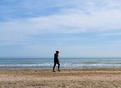 La pace. #sea #beach #igersemiliaromagna #ig_emiliaromagna #turismoer #vivoemiliaromagna #vivo_italia #italy #italia #igersitalia #whatitalyis #woman #women #blue #girl #girls #people #peopleitalian #sun #sunny #day #morning #goodmorning #nice #cute #cool #pretty #beautiful #run #waves by _alystar_