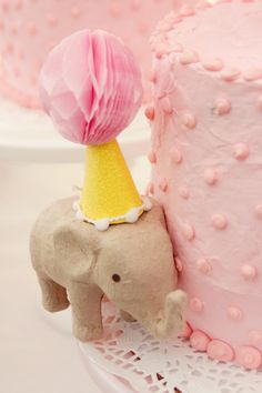 An elephant AND polka dots?!? It doesn't get any better than that!!