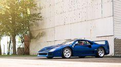 Ferrari F40 Blue, BLU