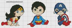 Super Heroes Babies 4/6
