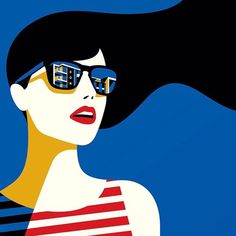 Le illustrazioni glamour e minimali di Malika Favre Arte Pop, Malika Fabre, Flugblatt Design, Patrick Nagel, Art Deco Paintings, Deco Studio, Affinity Designer, Fashion Wall Art, Portrait Illustration