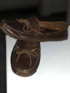 f926aad91fd Mens Cole Haan Brown Leather Mocs USA Size 8.5  fashion  clothing  shoes   accessories  mensshoes  casualshoes (ebay link)
