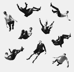 Erik Bjerkesjo Body poses, great reference photo for artists. Body Reference, Drawing Reference, Photomontage, Plakat Design, Poses References, Dynamic Poses, Album Design, Action Poses, Drawing Poses
