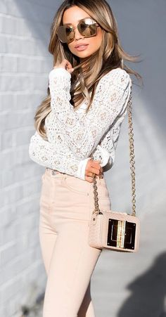Image in Fashion collection by Fashion and beauty Dressy Outfits, Cool Outfits, Pink Outfits, Peach Pants, Grunge, Fashion Models, Fashion Outfits, Fashion Beauty, Women's Fashion