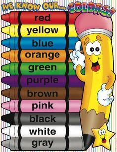 Teaching Colors in Spanish Preschool Spanish, Elementary Spanish, Spanish Activities, Spanish Classroom, Teaching Spanish, Teaching English, Spanish Words, Spanish Lessons, How To Speak Spanish
