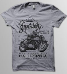 Motor Works T-Shirt | Men's T-Shirts | DSF Clothing Company and Art Gallery | Scoutmob Shoppe | Product Detail