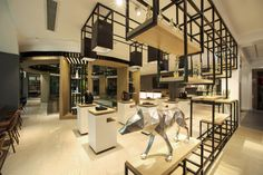 SEPTWOLVES flagship store by ProspaceAsia, Xiamen – China » Retail Design Blog