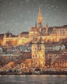 Credit by Instagram >>> ©krenn_imre Visit Budapest, Budapest Hungary, Winter Light, Medieval Castle, Central Europe, Wonderful Places, Amazing Places, Beautiful Places, Winter Scenes