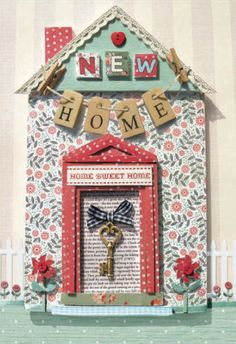 Welcome to your New Home card from the Woodmansterne Occasions range