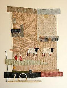 N e e d l e p r i n t: Janet Bolton Workshop * 11 June 2010 * Quilt Museum, York