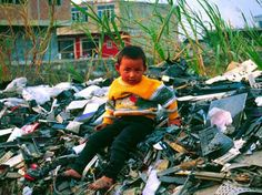 What happens to ewaste once disposed