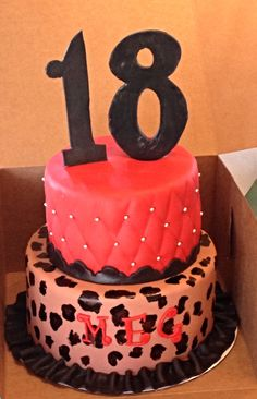 Cake Decoration For 18th Birthday : 1000+ images about 18th Birthday Cake Ideas on Pinterest ...
