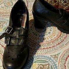 "Jellipop Loafers with heels Black ""Rihanna"" Style - never worn jellipop  Shoes Flats & Loafers"