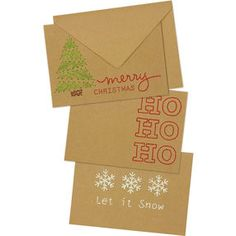 Holiday Stitched Cards, Embroidery_72-08278