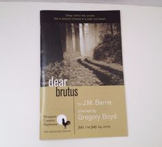 Westport Country Playhouse 2005 Dear Brutus CT Theater J M Barrie Theatre