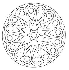 rangoli coloring pages for diwali pictures | Printable Design Patterns | Rangoli design coloring ...