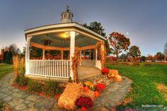 Day #30- <b>Fall</b> <b>Gazebo</b>, West Boylston Massachusetts Town Common