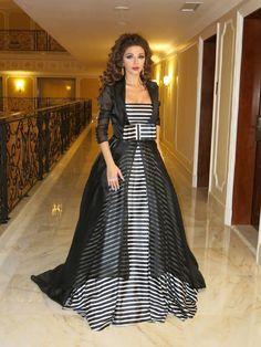 """#ازياء #فساتين استوحي أناقة سهراتكِ من 20 فستان لــ """"ميريام فارس"""" .. إليكِ ..!"""