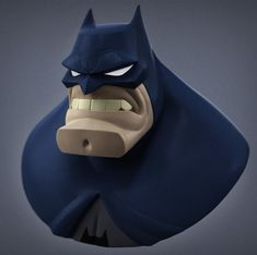 ArtStation - Batman Bust, Jarrod Clardie