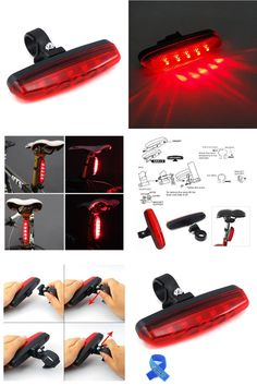 266286dfa115 Ultra Bright Waterproof 5 LED Biking Bike Bicycle Cycling Rear Back Lamp  Light-in Bicycle Light from Sports & Entertainment on Aliexpress.com |  Alibaba ...