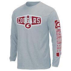 san francisco 65ce2 1256d Ncaa Men's Washington State Cougars Long-Sleeve Graphic T-Shirt, Size   XL M L XXL