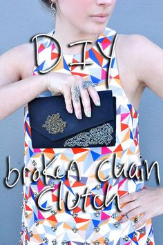 Intending to make your own clutches at home? Then just find the great DIY Clutch Purse hacks and ideas from these DIY Clutches Projects that will show you how to make a fabulous Foldover Clutch, Diy Clutch, Clutch Purse, Clutch Tutorial, Diy Tutorial, Cool Diy, Easy Diy, Diy Fashion Projects, Diy Projects