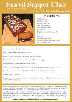 How To Make Traditional Madeiran Cake