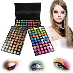 New 180 Silky Shine Color Professional Makeup Eyeshadow Palette 10003403 -- You can get additional details at the image link.