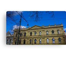 Facade of the Beehive Building - Bendigo, Victoria Canvas Print