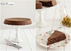 tarta liviana de chocolate