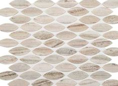 Master / Second Bath Accent | Stone Open Horizon Leaf Mosaic