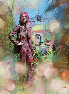 Malgosia Bela for Vogue UK December 2012 by Tim Walker