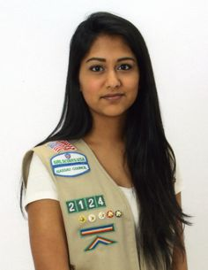 """#GirlScout Jessica - Jessica Prashad's Gold Award project, """"Project Friendship,"""" was developed because bullying poses a major threat to the nation's youth, especially to children with disabilities. Jessica sponsored an Awareness Night to convey ideas of acceptance, kindness, and understanding. #goldaward #gsnc"""