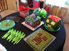 Colin's Minecraft party