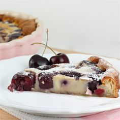 Cherry Almond Clafoutis by Made With Pink, via Flickr