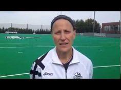 Field Hockey vs. Villanova - Head Coach Diane Madl (10/19/13)