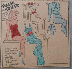 Tillie the Toiler 11-3-35 From Ebay