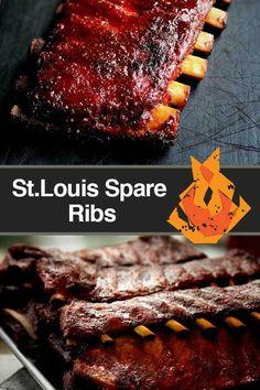 St. Louis spare ribs pinterest