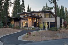 3,250 square foot contemporary mountain home.