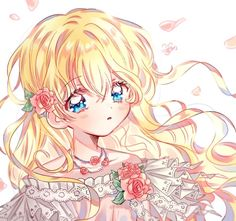 Athanasia De Alger Obelia - Who Made Me A Princess - Image - Zerochan Anime Image Board Anime Girl Cute, Beautiful Anime Girl, Anime Art Girl, Anime Chibi, Kawaii Anime, Manga Anime, Anime Princess, My Princess, Manhwa