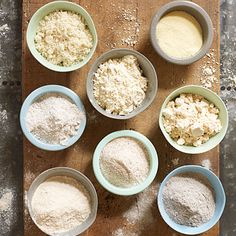 Using Different Flours: Expand your flour horizons with these ten terrific flours, including several gluten-free options. Gf Recipes, Gluten Free Recipes, Real Food Recipes, Cooking Recipes, Yummy Food, Healthy Recipes, Cooking Tips, Cooking Classes, Recipies
