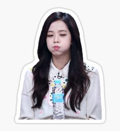 Kind-Hearted Kpop Blackpink Members Cute Adhesive Photo Sticker For Mobile Phone Notebook Luggage Lisa Rose Jennie Jisoo Diy Stickers Beautiful And Charming Jewelry Findings & Components