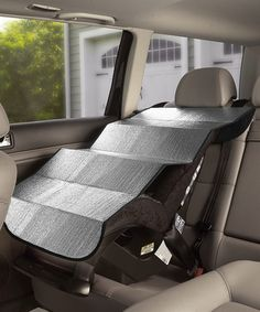 This Sunshield Seat Cover - Set of Two by Parent Units is perfect! #zulilyfinds